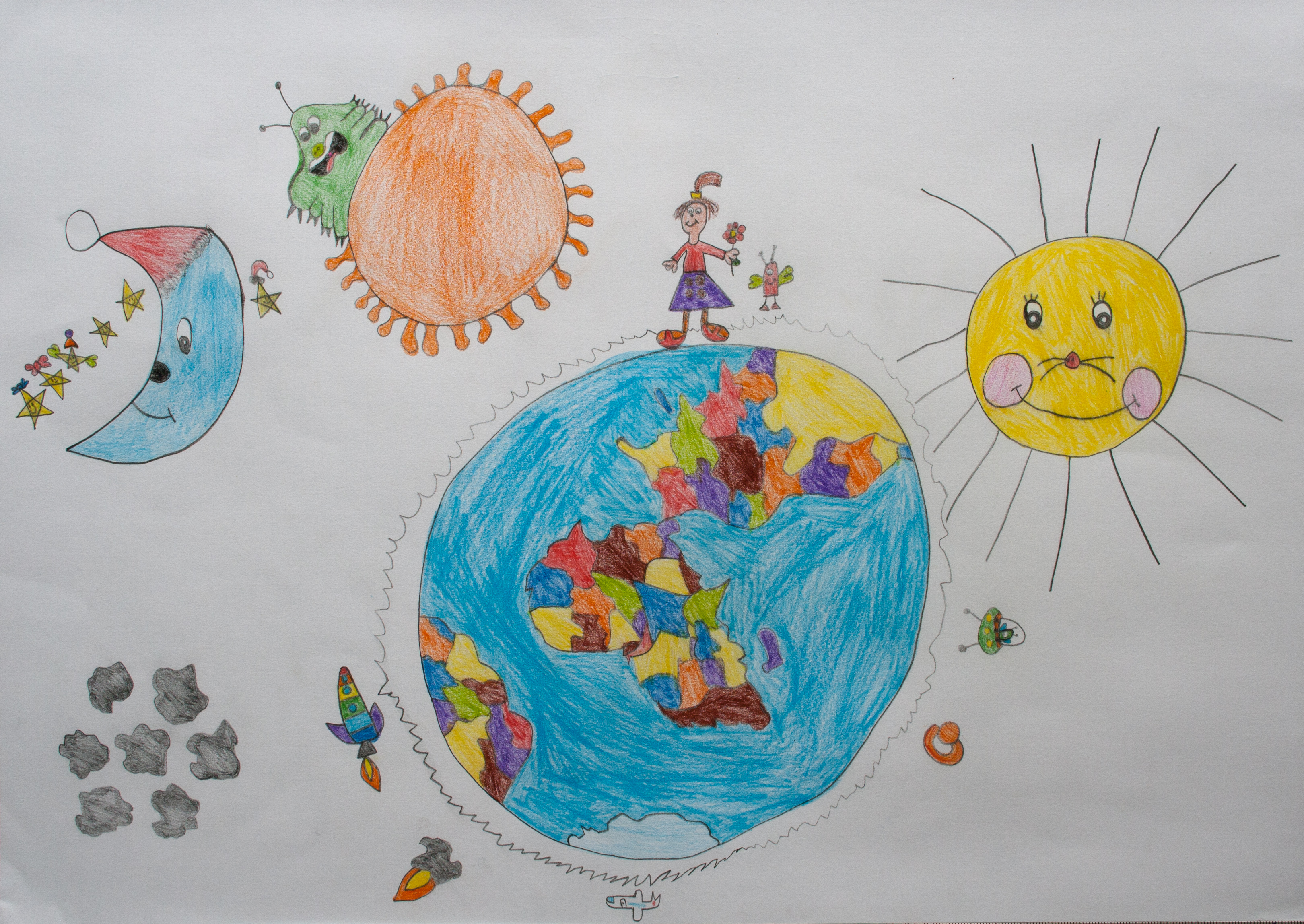Me and my planet Earth  Children Map Their World